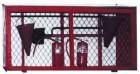 Щит пожарный металлический закрытый под сеткой-рабицей(без комплектации)